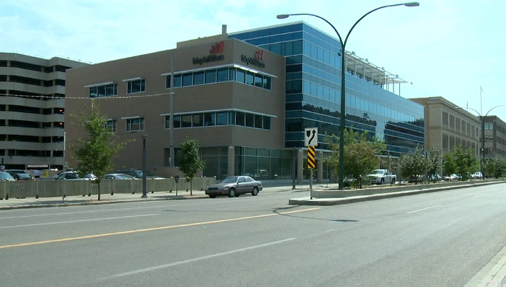 North Prairie Development's Discovery Plaza. City council removed the height restriction on new buildings in Saskatoon, paving the way for the company's proposed 27-storey condo-hotel complex.