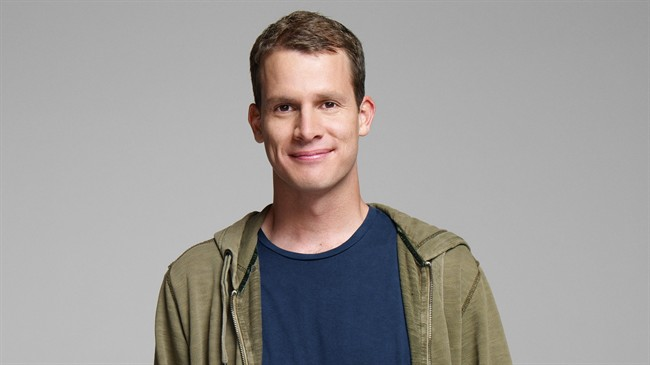 "Comedy Centra's Daniel Tosh, host of ""Tosh.0""."