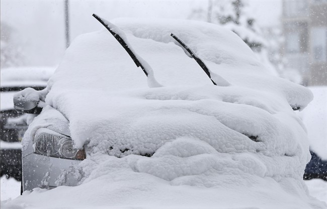 Environment Canada has issued a snow squall watch for Waterloo Region and Guelph, while northern Wellington County is under a snow squall warning.