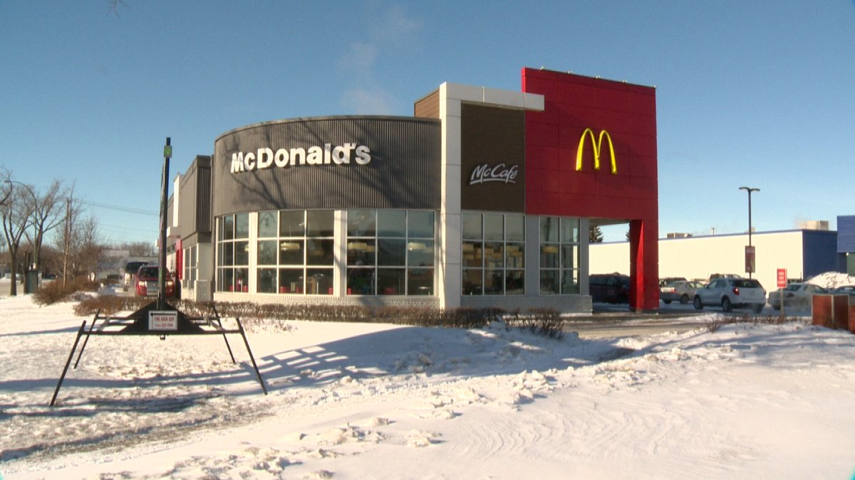 The Dewdney Avenue McDonald's in Regina has closed for a thorough cleaning and sanitization after an employee tested positive for COVID-19.