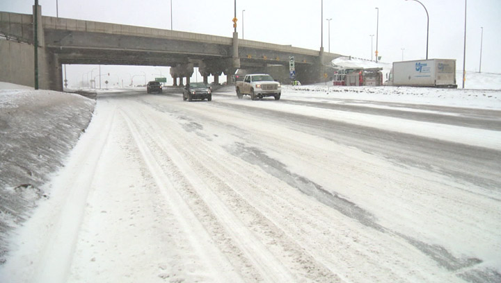 Police Chief Clive Weighill talks about winter driving in Saskatoon on the Morning News.