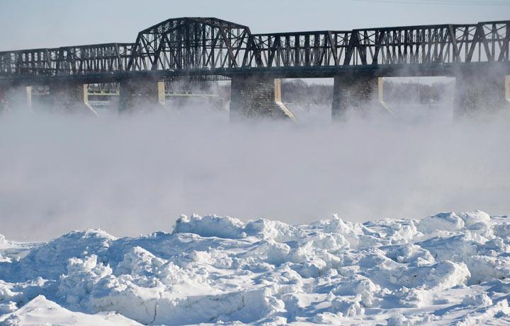 Cold temperatures grip most of Canada