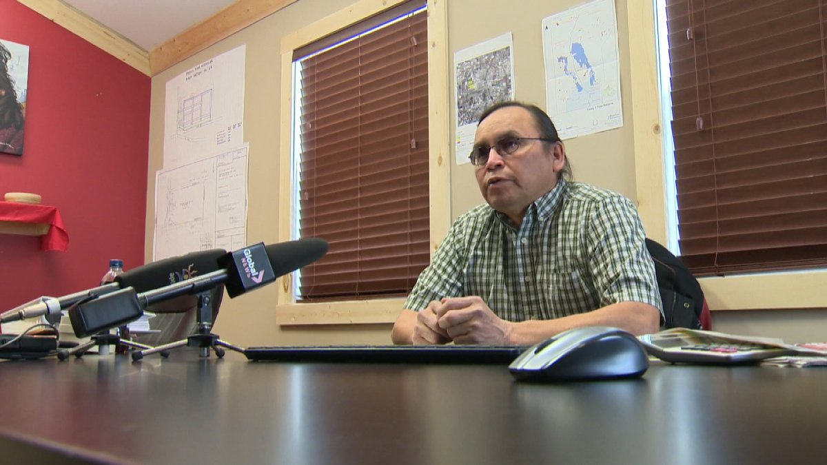 Terry Nelson is in a dispute with the leadership of Roseau River First Nation, where he used to be chief.