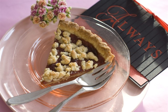 A simple jam tart for a simple expression of love