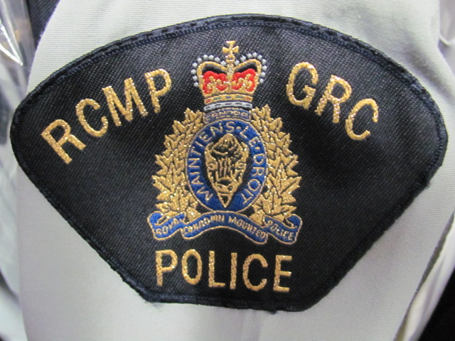 RCMP badge.