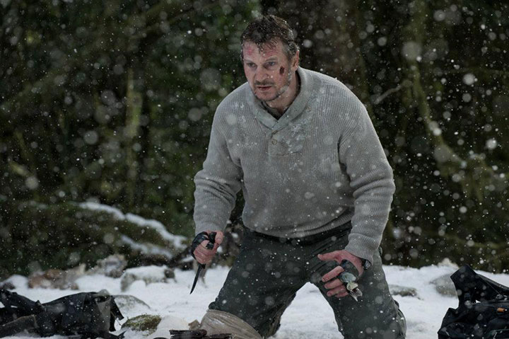 Liam Neeson in a scene from 'The Grey.'.
