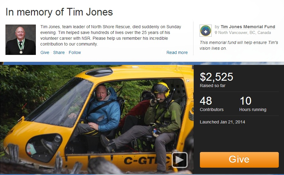 UPDATE: Online campaigns launched to create a legacy fund in honour of Tim Jones - image