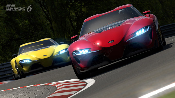 Video game allows players to test drive Toyota FT-1 concept sports car - image