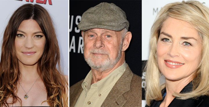 Jennifer Carpenter, Gerald McRaney and Sharon Stone are among the stars who will be working in Vancouver in March.