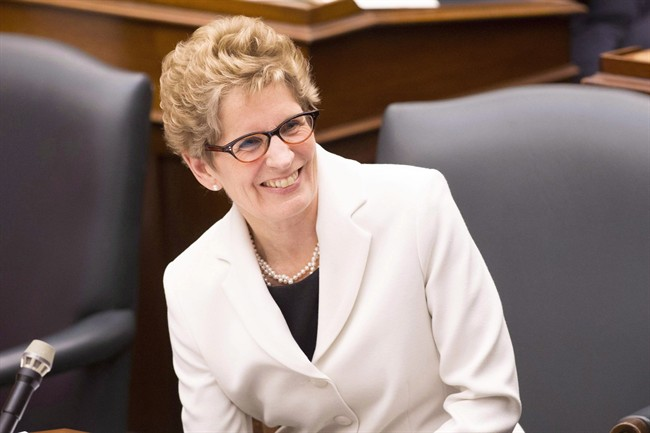 """Premier Kathleen Wynne says Ontarians are in """"safe hands"""" ahead of the Liberals annual party convention in Toronto this weekend."""