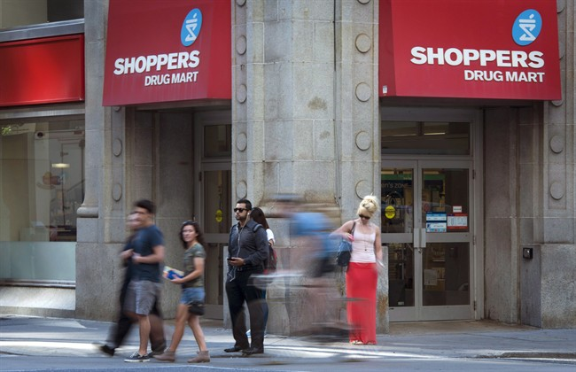 Loblaw has sold a total of 14 stores and 9 in-store pharmacies following its purchase of Shoppers Drug Mart.