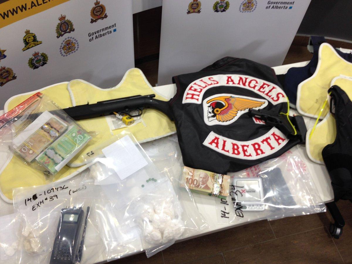 Alleged Hells Angels member arrested in Edmonton - image