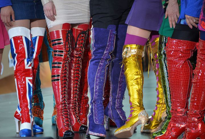 The Tony-winning musical 'Kinky Boots' will have its Canadian premiere in June 2015.