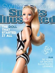 Continue reading: 'Unapologetic' Barbie featured in this year's Sports Illustrated swimsuit issue