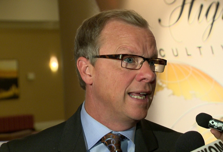 Saskatchewan Premier Brad Wall says not enough money for all infrastructure projects as communities feel crunch.