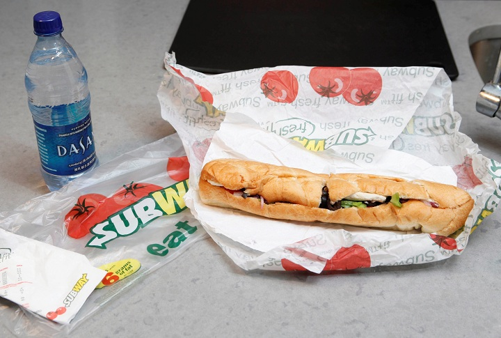 'Yoga mat' chemical in Subway bread to be removed by next week: company
