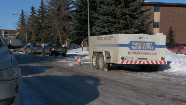 Extreme cold leaves City of Saskatoon dealing with significant number of water main breaks.