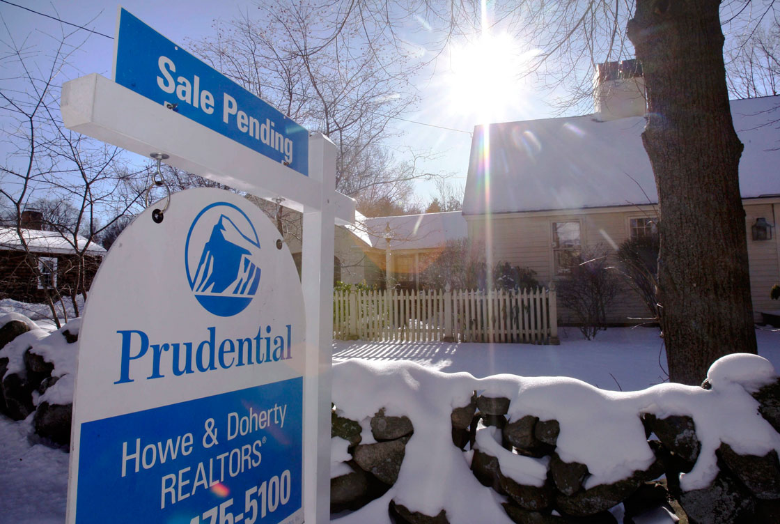 Home sales volumes declined for the fifth month in a row. But prices climbed higher in January.