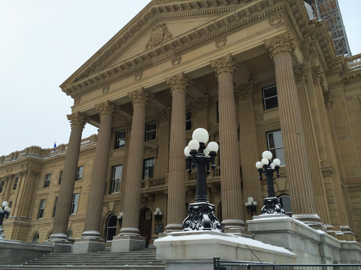 The Alberta Legislature, March 6, 2014.