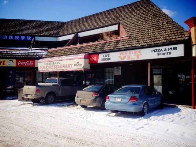 Strathearn Pub & Restaurant near 95 Ave. and 87 St., March 27, 2014.