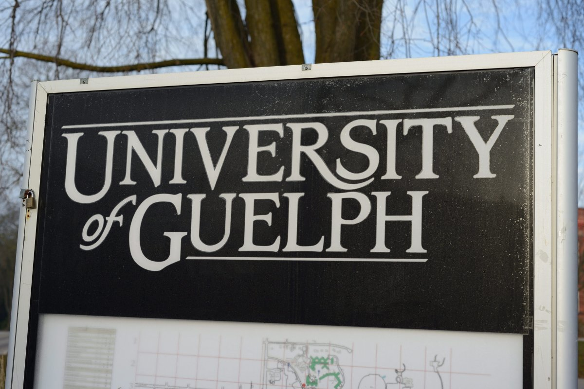 The University of Guelph.