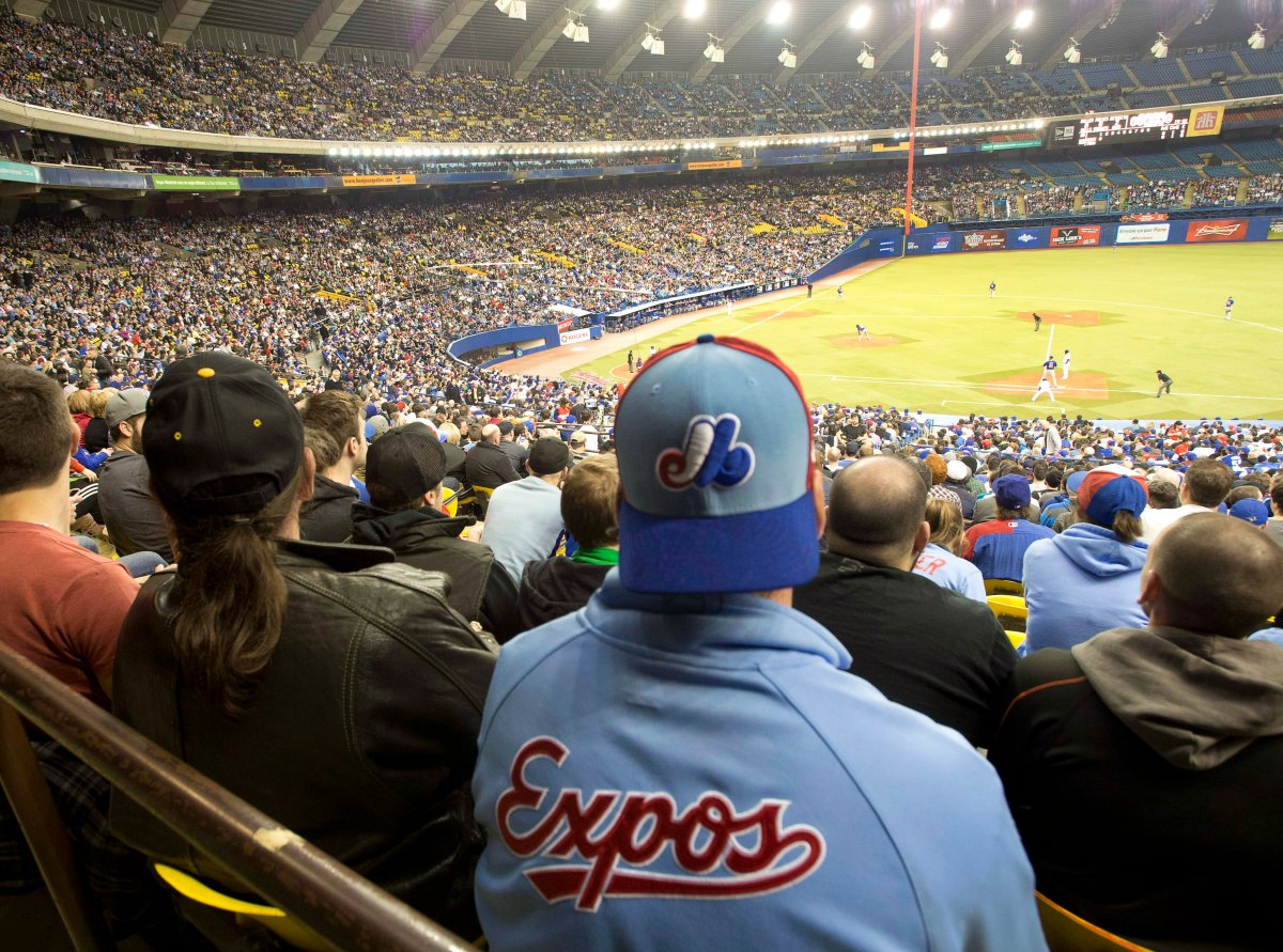 According to Rob Manfred, Major League Baseball in Montreal will have to wait until Oakland and Tampa Bay get new stadiums, Tuesday, July 11, 2017.