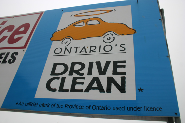 Newer-model cars almost never fail DriveClean tests, data from the Ontario Ministry of the Environment shows.