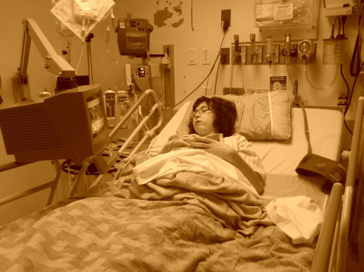 Anita Kersbergen's daughter, Stacy, has been put under quarantine due to concerns over norovirus at B.C. Children's Hospital.