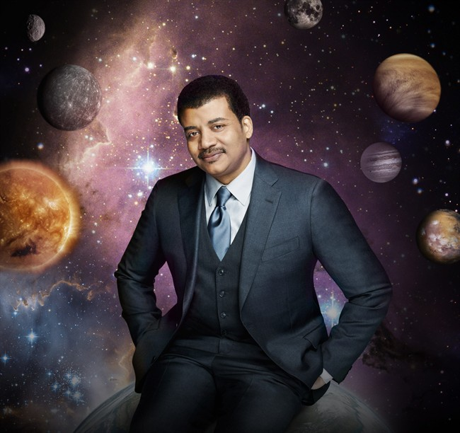 Astrophysicist Neil deGrasse Tyson, the new voice of Cosmos.