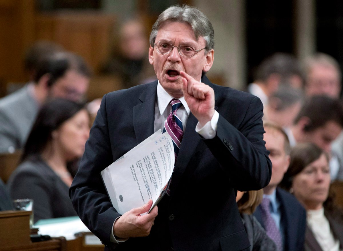 NDP MP David Christopherson filibustered for eight hours straight over the Tories' electoral reform act.