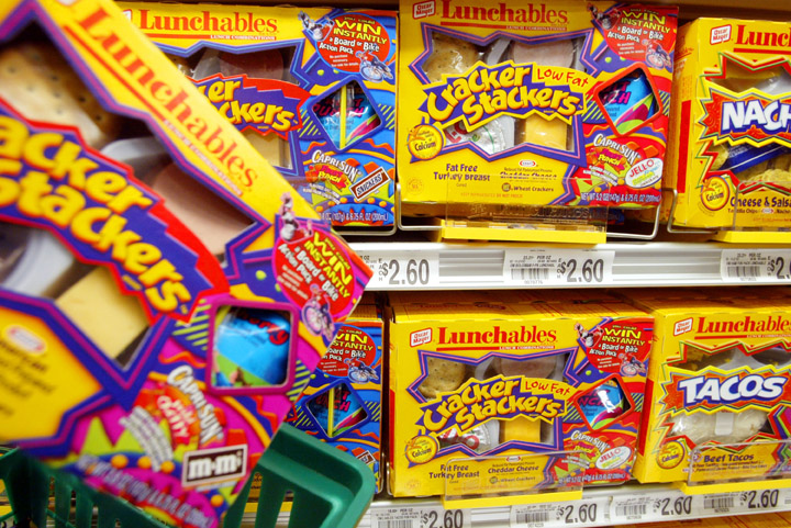 Don't lie: you've walked past the Lunchables at the grocery store and snuck a box into your shopping cart, just for the good old times.