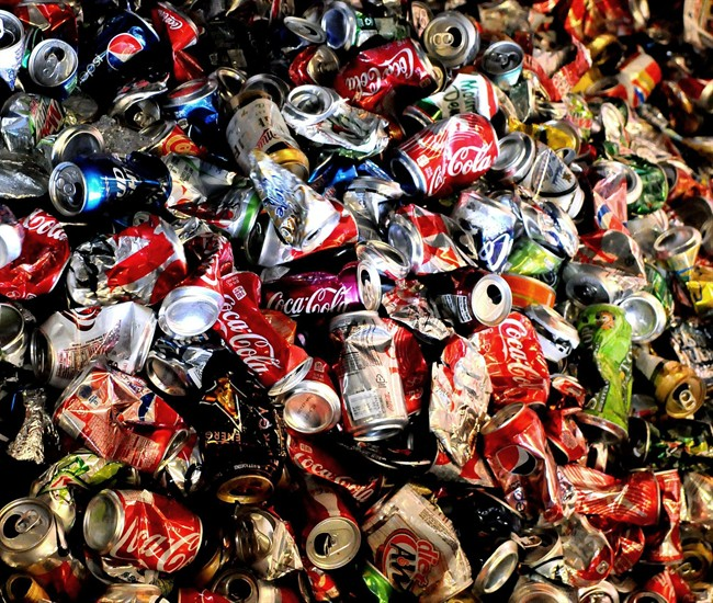 The deposit on empty pop can is doubling to 10 cents.