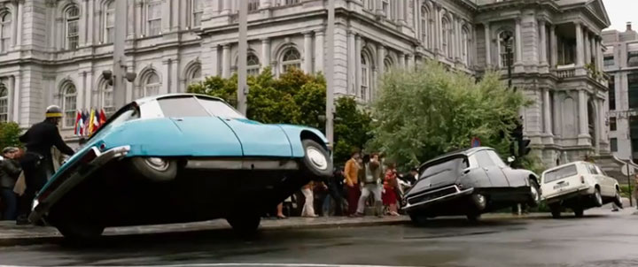 Montreal City Hall on Notre Dame Street East appears in a scene from 'X-Men: Days of Future Past.'.