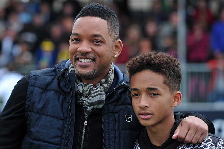 Will Smith and Jaden Smith, pictured in May 2013.