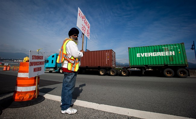 B.C. sets rate structure for port truckers - image