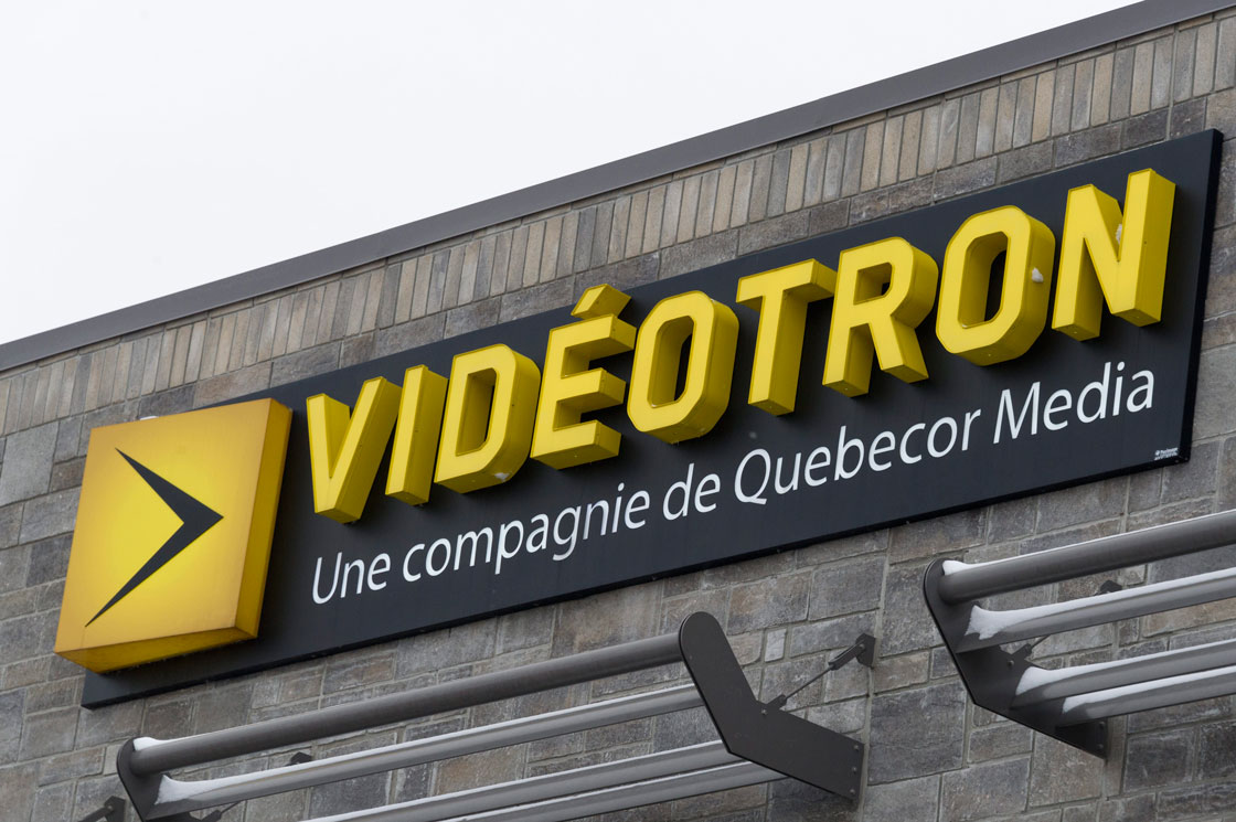 FILE -- Videotron says it has reached a deal to buy northwest Quebec-focused Teledistribution Amos Inc., also known as Cable Amos, and its television and internet network.