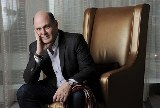"FILE - In this Sept. 7, 2013 file photo, ""Mad Men"" creator Matthew Weiner poses for a portrait on day 3 of the 2013 Toronto International Film Festival in Toronto."