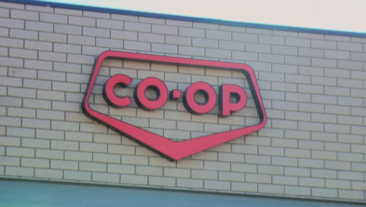 Safeway at The Centre in Saskatoon changes over to Co-op next month.