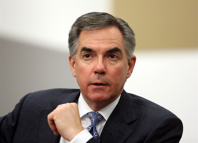 Former Conservative federal cabinet minister Jim Prentice is shown during an interview in Ottawa on Monday, November 19, 2012.