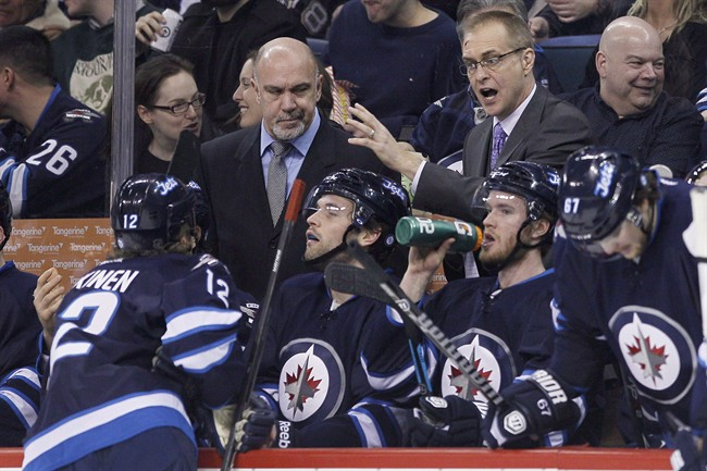Paul Maurice's contract expires with the end of the season.  The Jets need to get him back.