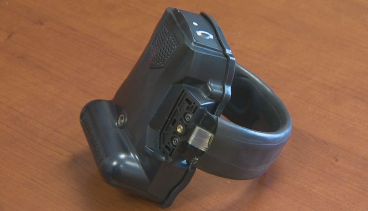 GPS monitoring bracelets to help keep track of stalkers.