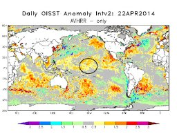 Continue reading: Tired of the cold? El Niño predicted to warm things up