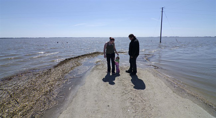Flooding in Manitoba in 2011 prompted numerous evacuations.