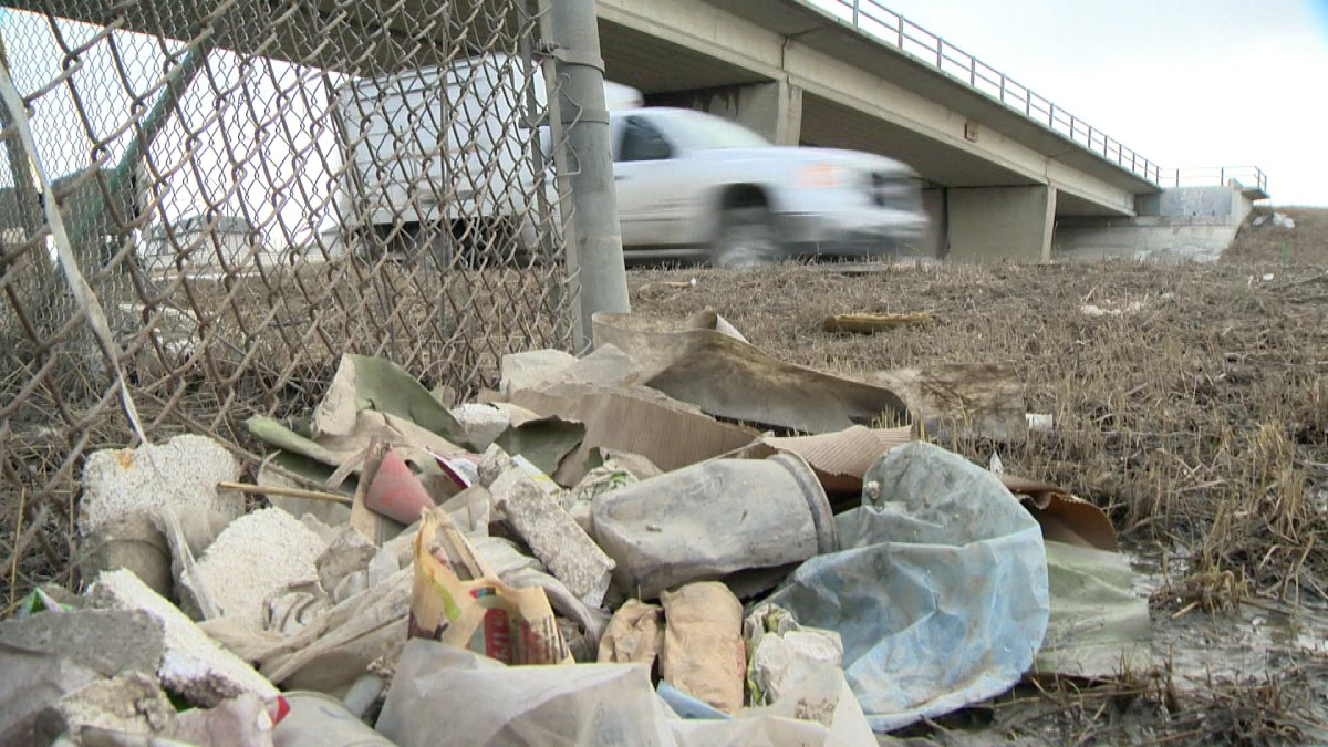The city's litter audit finds there is less litter in Edmonton, except on one major roadway.