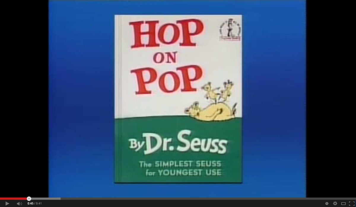 The Toronto Public Library was asked, but refused, to take Hop on Pop by Dr. Seuss off the shelf.
