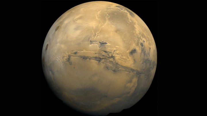 The search for life on Mars continues, with a new finding that methane may lie beneath its surface.