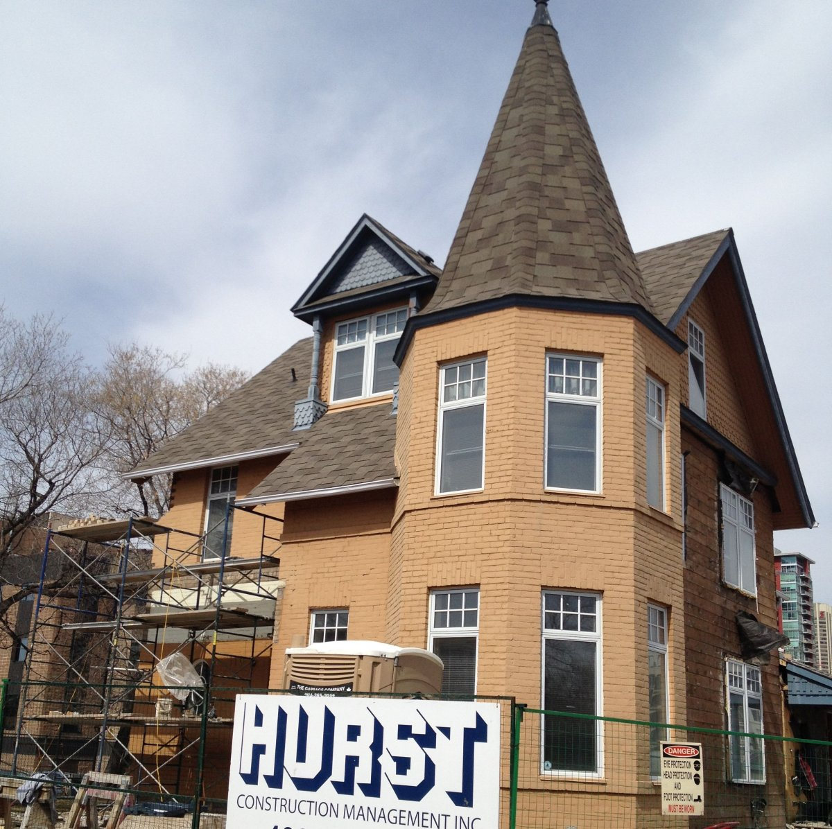 The McHugh House was built back in 1896, and has sat across from St. Mary's High School on 18 Ave. and Centre Street South.