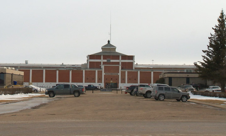 Two correction officers assaulted Tuesday at Saskatchewan Penitentiary in Prince Albert.
