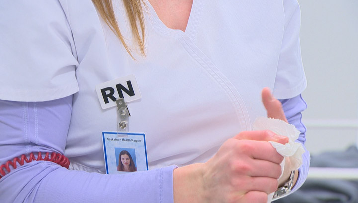 """""""Wear White"""" campaign by Saskatchewan registered nurses turning heads, including those of their colleagues."""