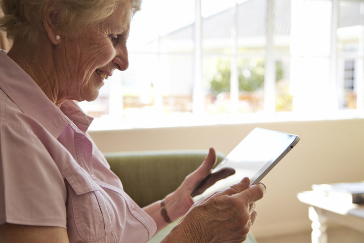 More seniors are online, but tech adoption remains slow for some